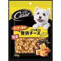 Cesar(シーザー) ドッグフード スナック チェダー香るコクと香りの贅沢チーズ 100g 1袋 マースジャパン