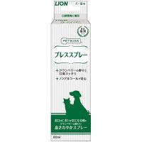 PETKISS(ペットキッス) 犬・猫用 ブレススプレー 80ml 1本 ライオン