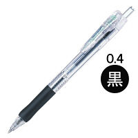 ゼブラ タプリクリップボールペン 0.4mm 黒 BNH5-BK 1本