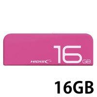 スライド式USB2.0 16GB 桃