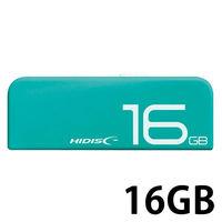 スライド式USB2.0 16GB 緑