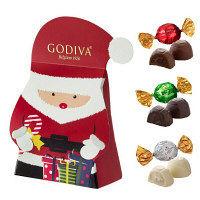 GODIVA(ゴディバ)ラッピングチョコレート クリスマス サンタボックス (9粒入)