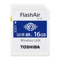 東芝 16GB 無線LAN搭載SDHCメモリーカード SD-UWA016G