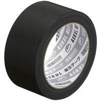 アスクル「現場のチカラ」 養生テープ 黒 幅50mm×長さ25m 1巻