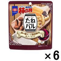 【アウトレット】亀田製菓 たねバルチーズ黒胡椒味&アーモンド 1セット(40g×6袋)