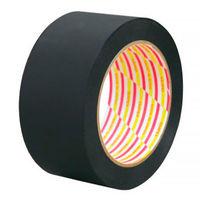 ダイヤテックス 養生テープ パイオラン つや消しテープ 影武者 MT-08-BK 黒 幅50mm×長さ25m巻 1巻