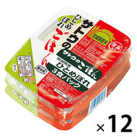 サトウのごはん宮城県産ひとめぼれ3食パック 7225603 1箱(36食入) 佐藤食品工業
