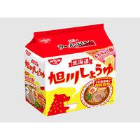 日清食品 日清のラーメン屋さん 旭川しょうゆ味5食パック 10295