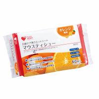 オオサキメディカル プラスハート マウスティシュー オレンジ風味 75041 1個(60枚入)