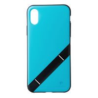 Softbank Selection *INVOL Stand for iPhone X / シアンブルー SB-IA17-CBSD/BL SB-IA17-CB