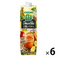野菜生活 豆乳バナナ 1000g 6本