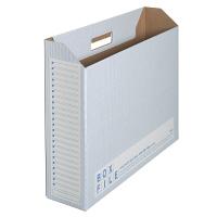 プラス ボックスファイル(エコノミータイプ) A3 ブルー 1箱(25冊:5冊入×5袋)