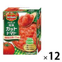 キッコーマン食品 デルモンテ 完熟カットトマト 388g 1セット(12個)
