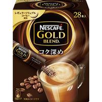 【インスタントコーヒー】ネスカフェ ゴールドブレンド コク深め スティック 1箱(28本入)