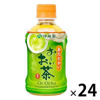 伊藤園 レンジ加温可 おーいお茶 緑茶 275ml ホット 1箱(24本入)