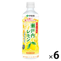 伊藤園 日本の果実 瀬戸内レモン 500ml 1セット(6本)