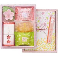 【アウトレット】花がさね HAG15 ギフトセット(石鹸4種+入浴料1種+タオル) マスター