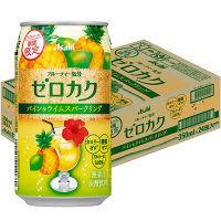 アサヒ ゼロカク 期間限定 パイン&ライムスパークリング 350ml 24缶