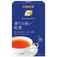 日東紅茶 香りの高い紅茶ティーバッグ 1箱(20バッグ入)
