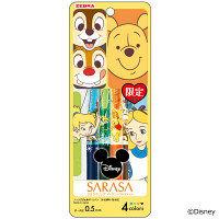 サラサクリップ ディズニーコレクション ゲルインクボールペン 4色セットB JJ29-DS-4C-B ゼブラ