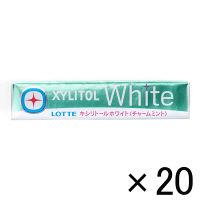 【アウトレット】ロッテ キシリトール ホワイト チャームミント 1箱(280粒:14粒入×20個)