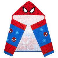 スパイダーマン フード付バスタオル