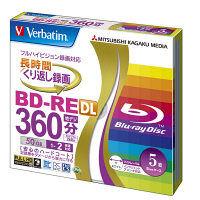 BD-RE DL録画用5枚ケース