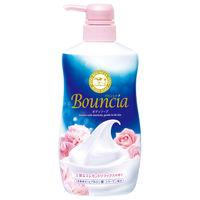 バウンシアボディソープ エレガントリラックスの香り ポンプ 550ml 牛乳石鹸共進社