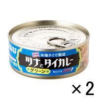 いなば ツナとタイカレーグリーン 2缶
