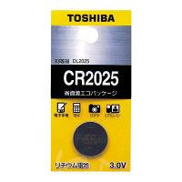 東芝 コイン形リチウム電池 X-CR2025EC(KIT25) 1箱(25個:5個入×5パック)