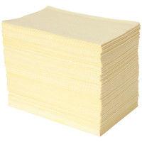 ビー エス エーサクライ 紙エプロン イエロー 1ケース(500枚入×4箱)
