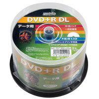 ハイディスクDVD+RDL50枚スピン