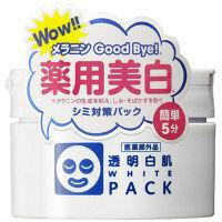 透明白肌 薬用ホワイトパックN 130g 石澤研究所