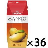 【アウトレット】CHABAA マンゴー 200ml 1箱(36本入)