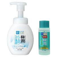 肌研(ハダラボ) 極潤 ヒアルロン泡洗顔 160mL 薬用極潤スキコンミニ20mL付  ロート製薬