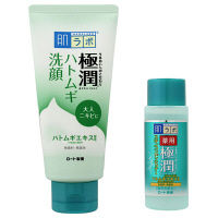 肌ラボ 極潤 ハトムギ洗顔フォーム 100g 薬用極潤スキコンミニ20mL付  ロート製薬