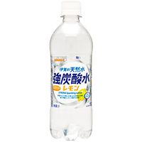 サンガリア 伊賀の天然水 強炭酸水レモン ペット 500ml×本 9186
