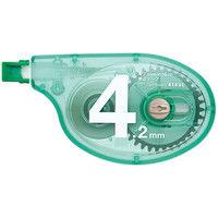 修正テープ アスクル×トンボ鉛筆 幅4.2mm×15m グリーン 10個 CT-YTA4AS