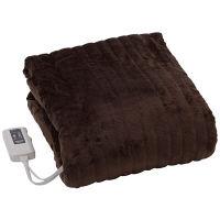 山善 電気掛敷毛布(188×130cm)