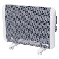 YAMAZEN 遠赤パネルヒーター (1000W/500W 2段階切替) 白 DP-SC10(W)