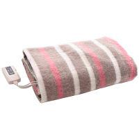 YAMAZEN ハイブリッド消臭電気掛敷毛布 エチケット×銀世界使用 丸洗い可能 (188×130cm) YMK-H61