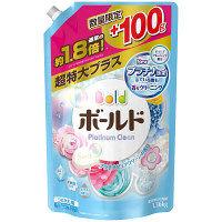 【数量限定増量品】ボールド プラチナピュアクリーンの香り 詰め替え 超特大プラス 1360g 液体衣料用洗剤 P&G