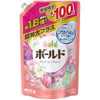 【数量限定増量品】ボールド プラチナフローラルサボンの香り 詰め替え 超特大プラス 1360g 液体衣料用洗剤 P&G