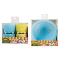 【アウトレット】貝印 ドラえもんシリコンケーキ型&カップセット 1セット(ケーキ型×1、カップ×4)