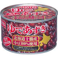 ホテイ ゆであずき 北海道産430g 1缶