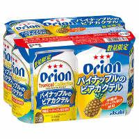 オリオン パイナップルのビアカクテル 350ml 6缶
