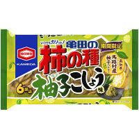 亀田製菓 亀田の柿の種柚子こしょう味3袋