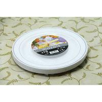 ホワイトプレート シルバーリム 19cm 1袋(10枚入) アームカンパニー