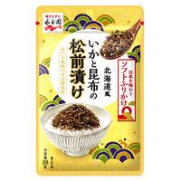 永谷園 日本を味わうソフトふりかけ いかと昆布の松前漬け 1個