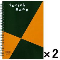 図案スケッチブック A4変形 2冊